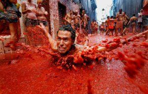 В Испании уже подготовили 60 000 тонн томатов для масштабной битвы