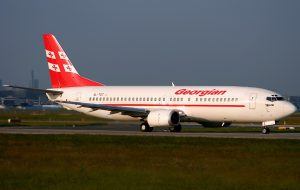 Georgian Airways полетит из Москвы в Тбилиси с посадкой в Ереване