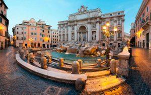В Риме хотят ограничить доступ к фонтану Треви для путешественников