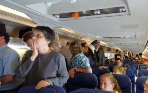 40% пассажиров испытывают сильную неприязнь к попутчикам сразу после посадки