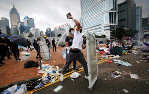 Генконсульство РФ сообщило о массовых акциях в Гонконге
