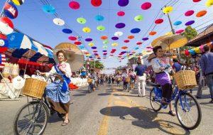 Таиланд анонсировал яркий фестиваль зонтиков в Чиангмае