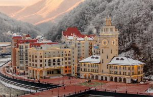 Мало снега: курорт «Роза Хутор» ограничил продажи ски-пассов