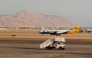 Первые туристы из Великобритании прибыли в Шарм-эль-Шейх