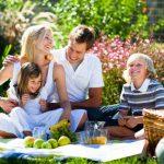 На пикник - всей семьей