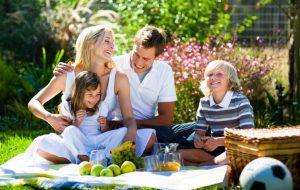 На пикник — всей семьей