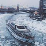 На Москве-реке состоялось открытие зимней пассажирской навигации