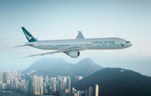 Авиакомпания Cathay Pacific бесплатно застрахует своих пассажиров на 200 000 долларов