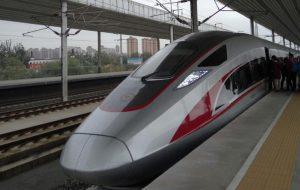 В Китае собрали новый скоростной поезд, способный работать без машиниста и при экстремально низких температурах