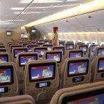 Авиакомпания Emirates предложила пассажирам выкупать соседние места за 55 долларов США