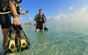 Путешествие к морским глубинам с Velassaru Maldives