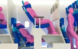 Новые двухуровневые кресла в самолетах дадут пассажирам больше места для ног